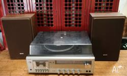 Up for sale is an awesome vintage Hi-Fi Stereo System-