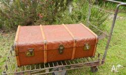 This is a very cool railway trolley.In great vintage