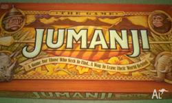 Vintage JUMANJI BOARD GAME Game Is Complete & In Very