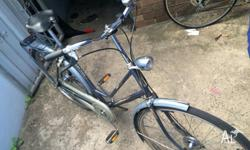 For sale is a ~1960s dutch bicycle that was moved first