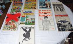 I have for sale a lot of 11 vintage magazines &