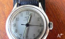 Vintage MEDA watch. Circa 1950's Swiss Made. Small