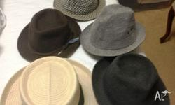 VINTAGE MENS HATS FOR SALE ONLY $10 ea 0401 536****+