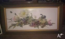 Beautiful original painting in original frame - painted