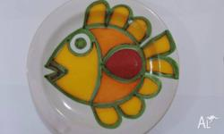 Great opportunity to own an original art pottery plate