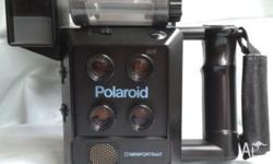 This Polaroid Mini Portrait Camera comes with Case and