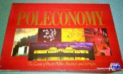 Vintage Poleconomy Board Game - 1980 VGC (Highly