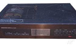 Proton Amplifier from the 1980's for Sale. A Speaker