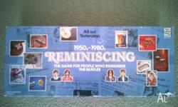 VINTAGE - REMINISCING THE BOARD GAME 1990. ...FOR