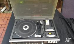 Up for sale is a classic retro JVC MF-23 Turntable.