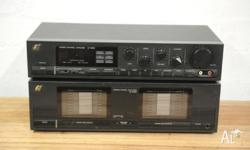 Up for sale is an awesome Sansui C-1000 Stereo Control
