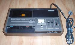 Sony tape deck from 1970-1973. owned since new. full