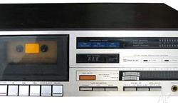 Teac Cassette Deck from the 1980s for Sale. 2 Heads.