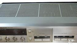 Technics Amplifier from the 1980's for Auction. A