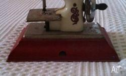 "Vintage Toy Sewing Machine ""Little Betty"" circa 1950's"