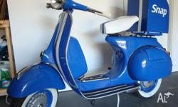 Vintage 1963 VBB Vespa purchased from Gasoline Scooters
