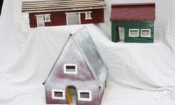 VINTAGE VILLAGE BUILDINGS COUNTRY TOWN FARM LARGE A