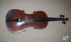 violin 1827 ward brand of warrington england.