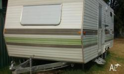 Viscount 1980 Caravan 20ft Tare Weight 1150 Tandem
