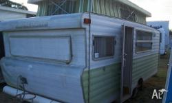 16'3 x 7', 4 - 6 Berth caravan, Front Double Bed /