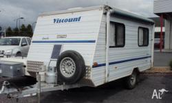 VISCOUNT GAZELLE, 1995, White, Pop Top, Viscount
