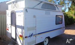 A fantastic little van easy to tow by car or 4wd. Spare