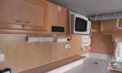 "Off road 17' 6"" pop top caravan, travelled approx"
