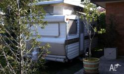 Viscount well built pop top caravan with annexe, approx