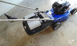 "LADY OWNER VICTA 4 STROKE MULCHER MOWER, 18 "" CUT,,"