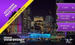 I have three tickets to Vivid Sydney Cruise by Proclaim