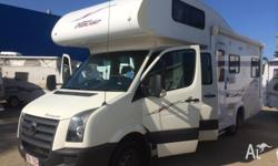 2009 Volkswagen Crafter 6 Berth Motorhome Where do you