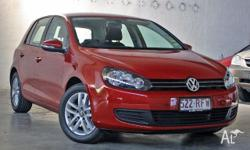 VOLKSWAGEN,GOLF,118TSI,2010, Amaryllis Red Metallic,
