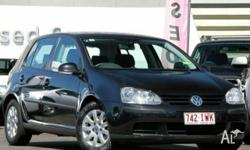 VOLKSWAGEN,GOLF,1K,2005, FWD, Black, BLACK trim, 5D