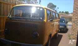 I have for sale my 1975 VW kombi micro, seats 8 with