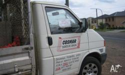 White small truck perfect for concreter s, plumbers,