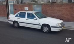 1996 VOLVO 850 SEDAN. DRIVES WELL AIR COND WORKS OK.