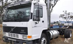 Volvo FL& Cab chassis truck Manual 12 spd gearbox,280