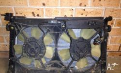 VT radiator and fan in good condition , pick up from