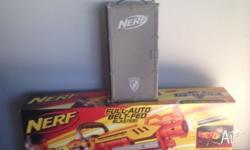 Never been opened still in box Vulcan nerf gun with