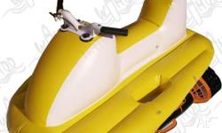 Wahoo Watersports - Inflatable Scooter, BOAT ACCESSORY,