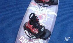 Wakeboard & Boots - Crank Conspiracy Wakeboard - Second