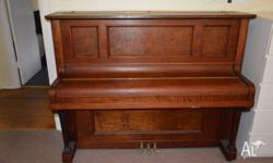 Waldorf upright piano,have owned for 3 years and was