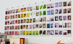 Wall Album Make you instax films become a wall