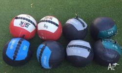 Wall balls for sale 8kg: $30 each 6kg: $25 each 5kg: