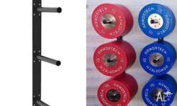 **Bumper or Plate Rack, Wall Mounted** Sytle your gym