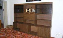 Very good condition, walnut colour, 4245mm long, 370mm