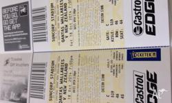 2 x Wallabies v New Zealand Tickets.Saturday October