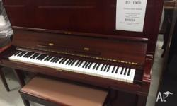 Walnut Yamaha U3, 131cm...Rare to find, timber finish
