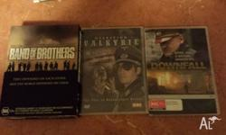 Box Set of Band of brothers The downfall Valkyrie still