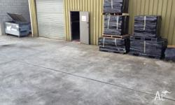 100sq.m of commercial warehouse or workshop space
